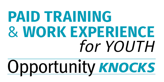 Paid Training and Work Experience for Youth: Opportunity Knocks